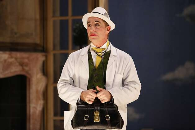 "Steven Epp stars in ""A Doctor in Spite of Himself"" at Berkeley Repertory THeatre. Photo: Carol Rosegg"