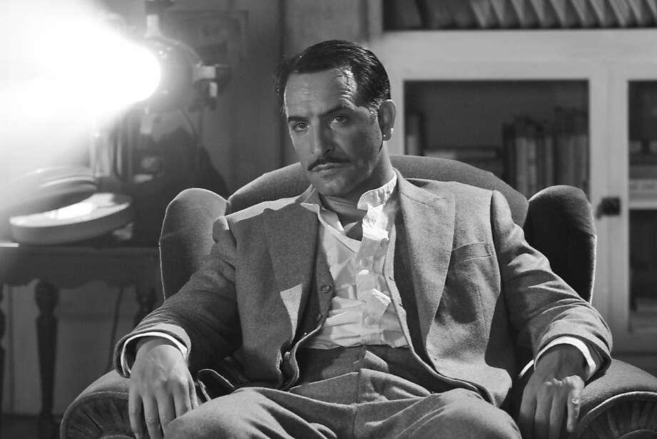 Jean Dujardin as George Valentin in Michel Hazanavicius's film THE ARTIST Photo: The Weinstein Co.