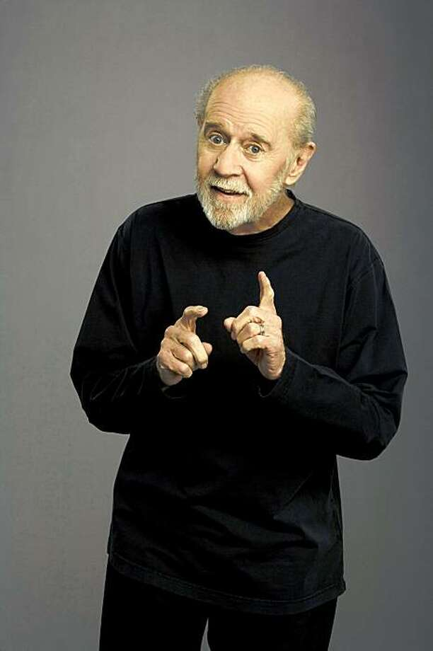 "This is an  undated file photo originally released by HBO of George Carlin to promote  his HBO special, ""Its Bad For Ya"".  A publicist for George Carlin says the legendary comedian has died of heart failure at a hospital in Santa Monica, Calif., Sunday June 22, 2008. Photo: ROBERT SEBREE, AP"