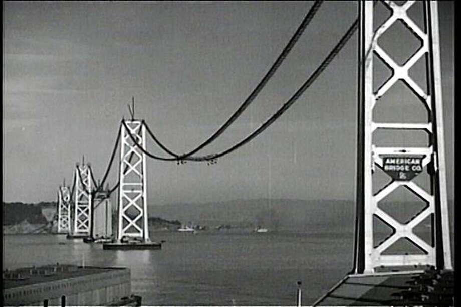 Bay Bridge Construction. Photo: Courtesy Rick Prelinger