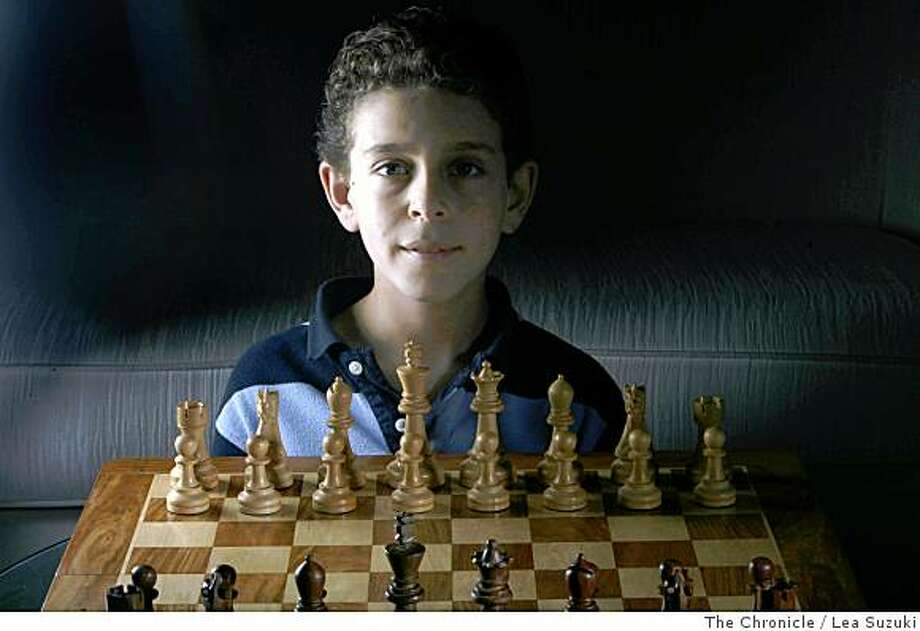 Daniel Naroditsky is ranked first in the world for chess for boys 12 and under. Photo: Lea Suzuki, The Chronicle