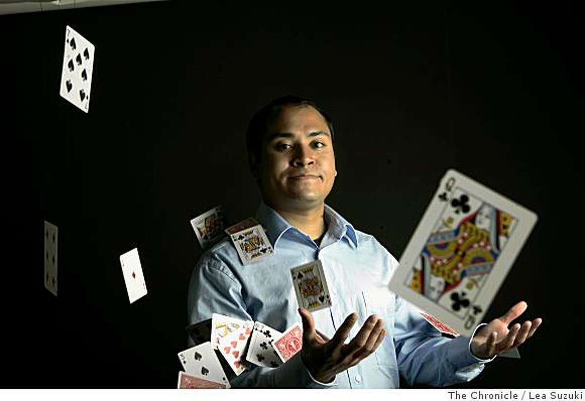 Chester Santos in San Francisco, Calif. on Monday, June 2 2008, is a master memorizer.Photo By Lea Suzuki/ The Chronicle