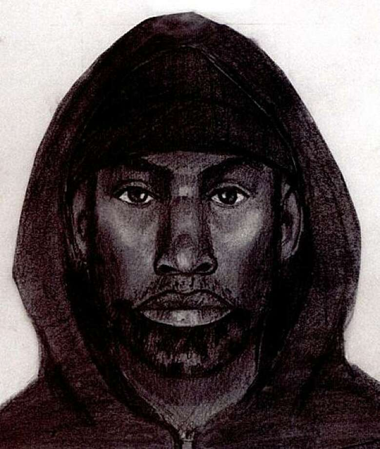 Undated police sketch of the suspect sought in the stabbing of 11-year-old Hatin Mansori on the Muni 49 Line outbound on 19th Street and Mission Street on Sept. 1, 2009. Photo: San Francisco Police Department