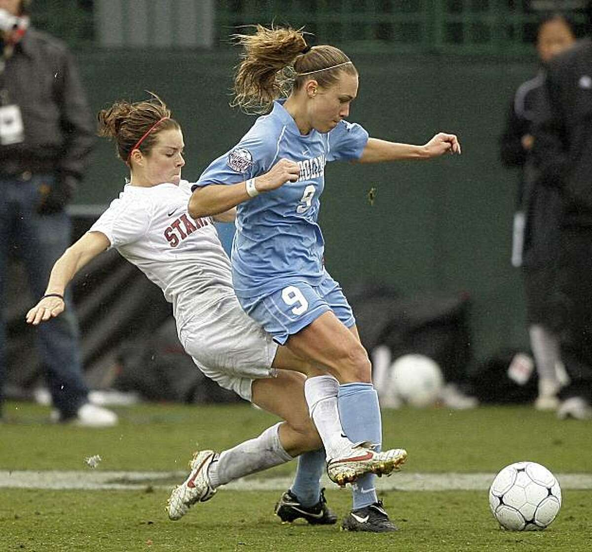 University of North Carolina women's soccer (1982-2012) UNC women's soccer has won 21 NCAA tournaments over the past 31 years, including nine in a row between 1986-1994.