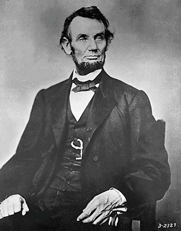 "(FILES)This National Archives file photo taken between 1861-1865  shows former US President Abraham Lincoln. Lincoln was sworn in as the 16th US President on  March 4, 1861, soon after on  April 12, 1861, the US Civil War began and continued until  April 9, 1865. The opening salvo of the American Civil War will be recreated on April 12, 2011 in the harbor of Charleston, South Carolina, as part of events marking this week's 150th anniversary of the start of the conflict. AFP PHOTO/HO/ RESTRICTED TO EDITORIAL USE - MANDATORY CREDIT "" AFP PHOTO / - NO MARKETING NO ADVERTISING CAMPAIGNS - DISTRIBUTED AS A SERVICE TO CLIENTS (Photo credit should read HO/AFP/Getty Images) Photo: HO / AFP"