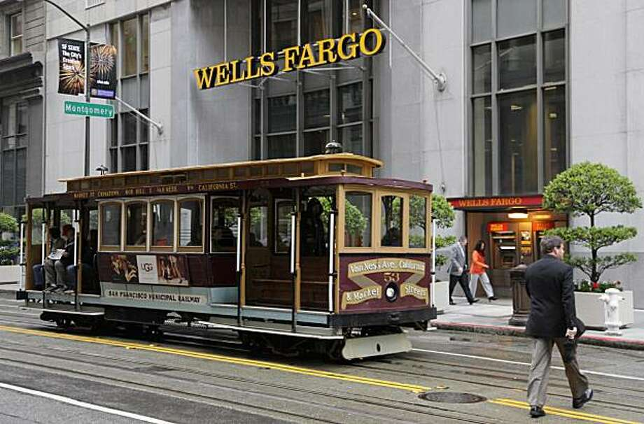 wells fargo reports 52 jump in earnings sfgate. Black Bedroom Furniture Sets. Home Design Ideas