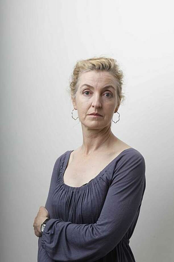 SF historian and Author Rebecca Solnit sits for a portrait in the Chronicle studio on Friday July, 17, 2009 in San Francisco, Calif. Photo: Mike Kepka, The Chronicle