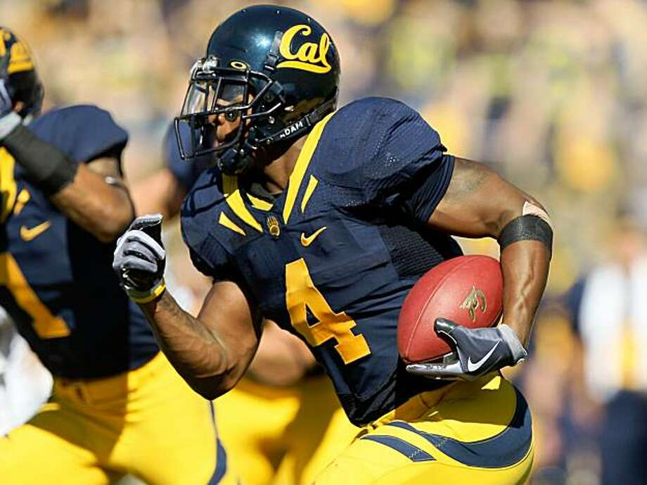 Cal's Jahvid Best runs against the Washington State Cougars at California Memorial Stadium on Saturday in Berkeley. Photo: Jed Jacobsohn, Getty Images