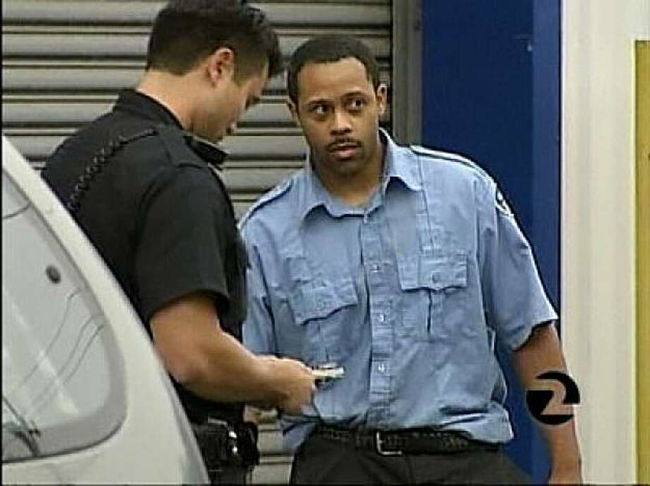 Brinks Security driver Clifton Wherry. Photo: Courtesy , KTVU Channel 2 News