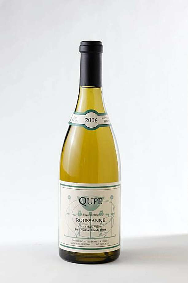 2006 Qupe Roussanne Santa Maria Valley in San Francisco, Calif., on November 17, 2009. Photo: Craig Lee, Special To The Chronicle