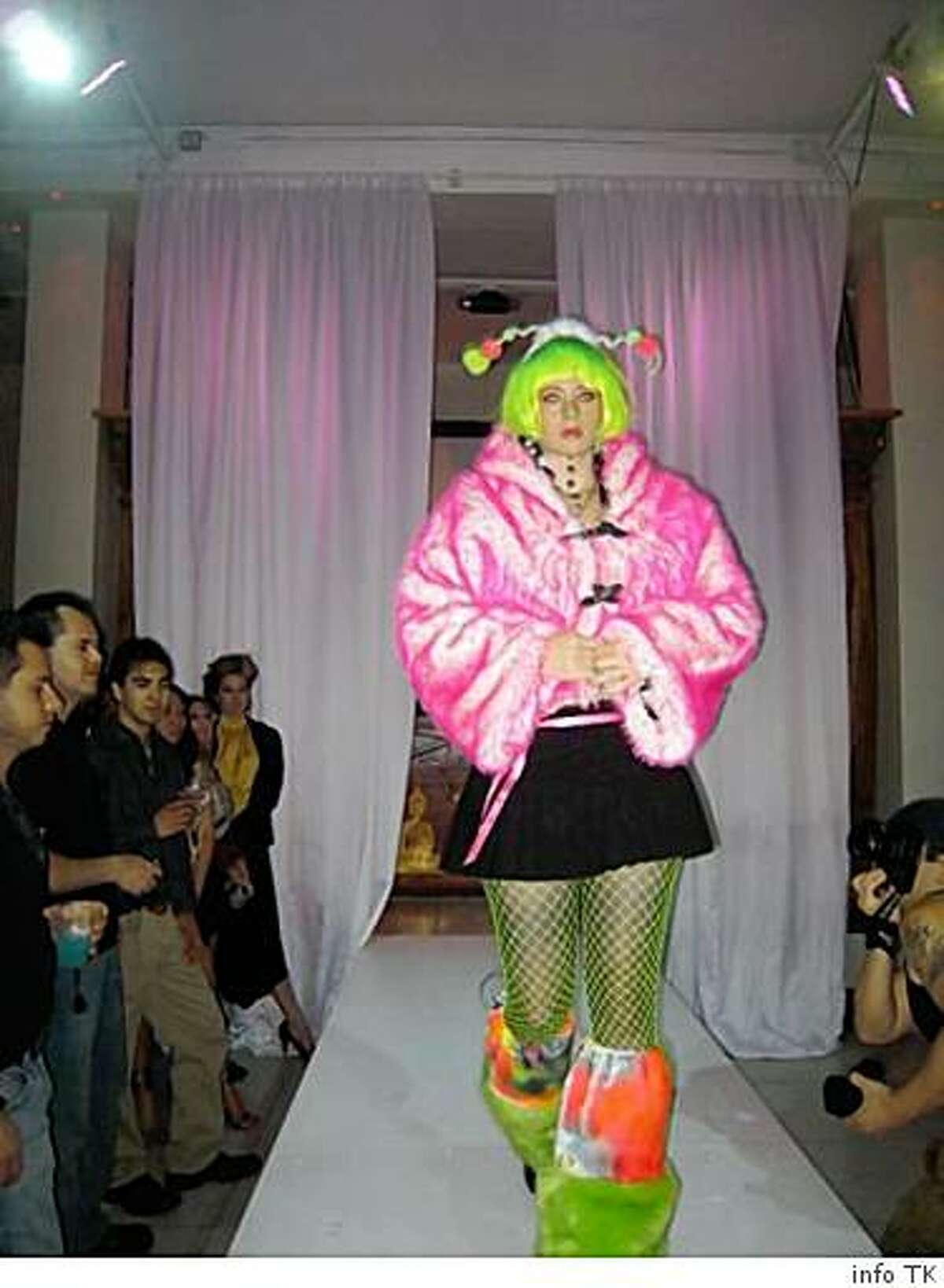 These images are from a 2007 fashion show held in San Francisco in advance of the Burning Man event. Location, more detailed info TK from anastasia and writer.