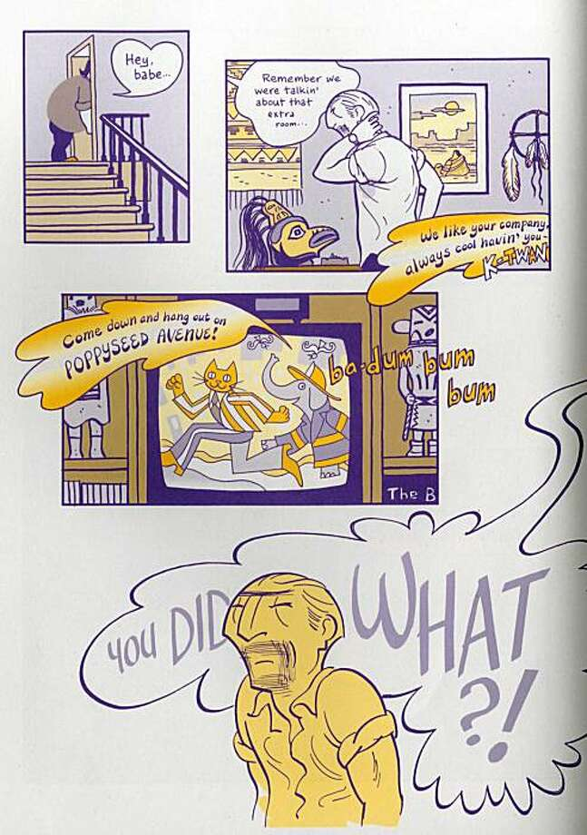 artwork from the graphic novel asterios polyp by david mazzucchelli Photo: Handout