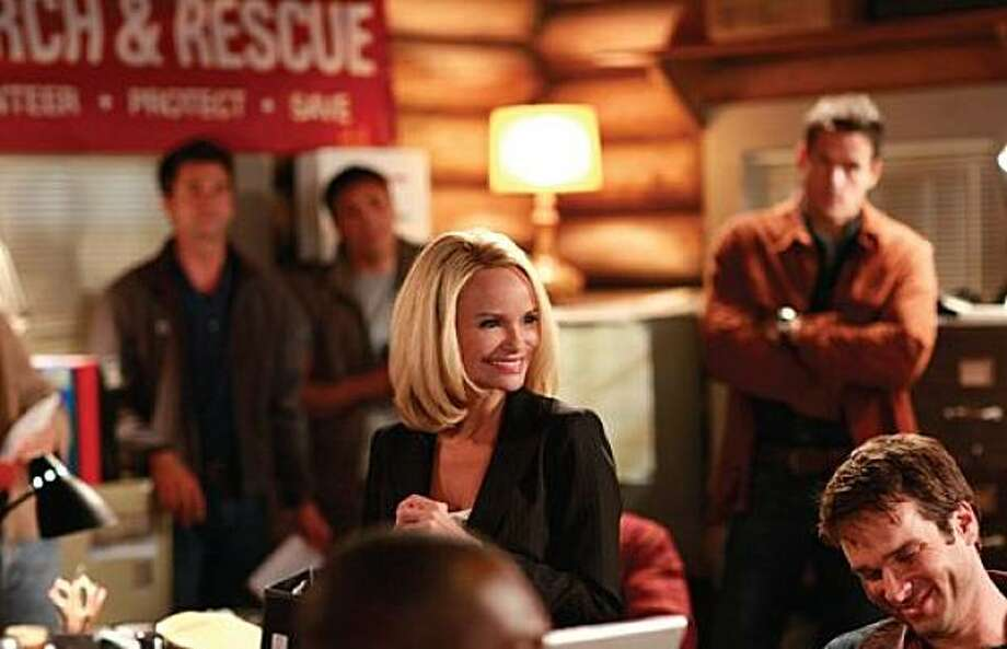 Kristin Chenoweth (E.J.) stars in the Lifetime Original Movie 12 Men of Christmas premiering on Saturday, December 5, 2009 on Lifetime. Photo: Andrew Bako, Lifetime Television