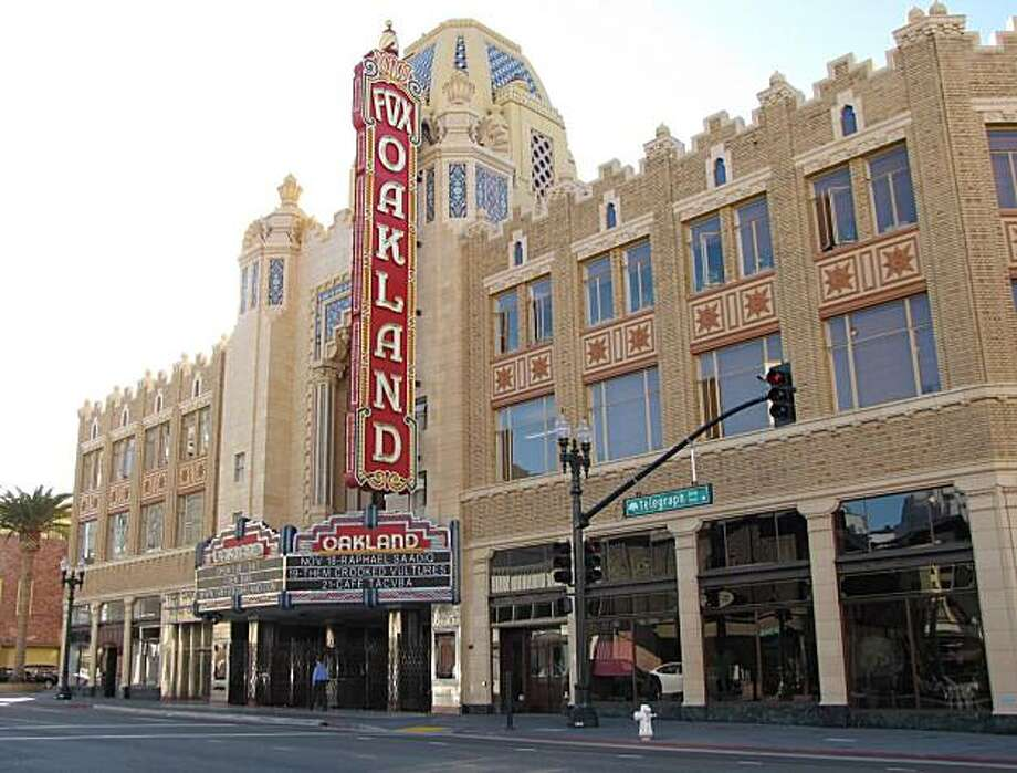 Telegraph Avenue and Broadway, Uptown, Oakland: Location 1: The Fox Theater Photo: Stephanie Wright Hession