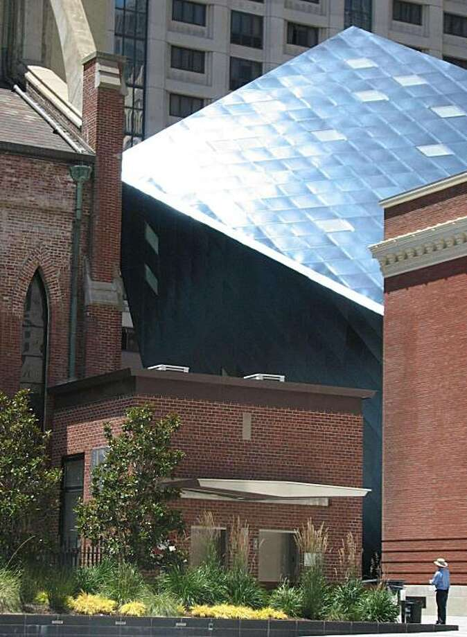 The Contemporary Jewish Museum, a building in San Francisco that shows the old and new can blend. Photo: John King, The Chronicle