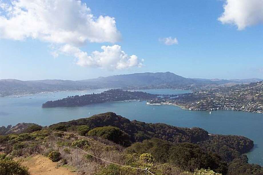 The view from the top of Mt. Livermore on Angel Island State Park.     Photo credit: Casey Lee, California State Parks Photo: Casey Lee, California State Parks