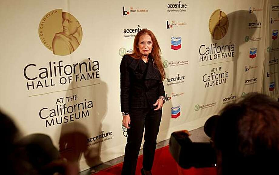 Author Danielle Steel poses on the red carpet Tuesday. She was one of thirteen Californians inducted into the state's Hall of Fame in Sacramento. Photo: Brant Ward, The Chronicle