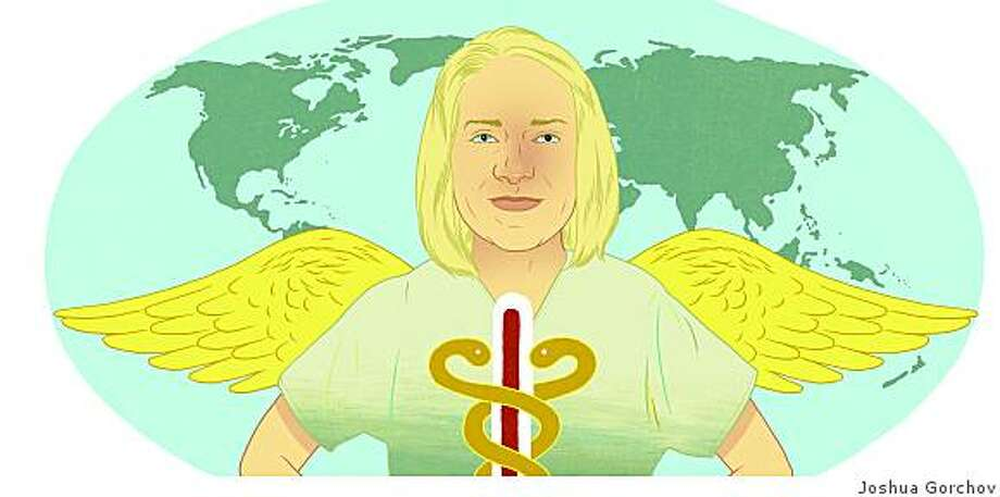 Meg Styles raises fund for her own non-profit to increase the worldwide supply of nurses.