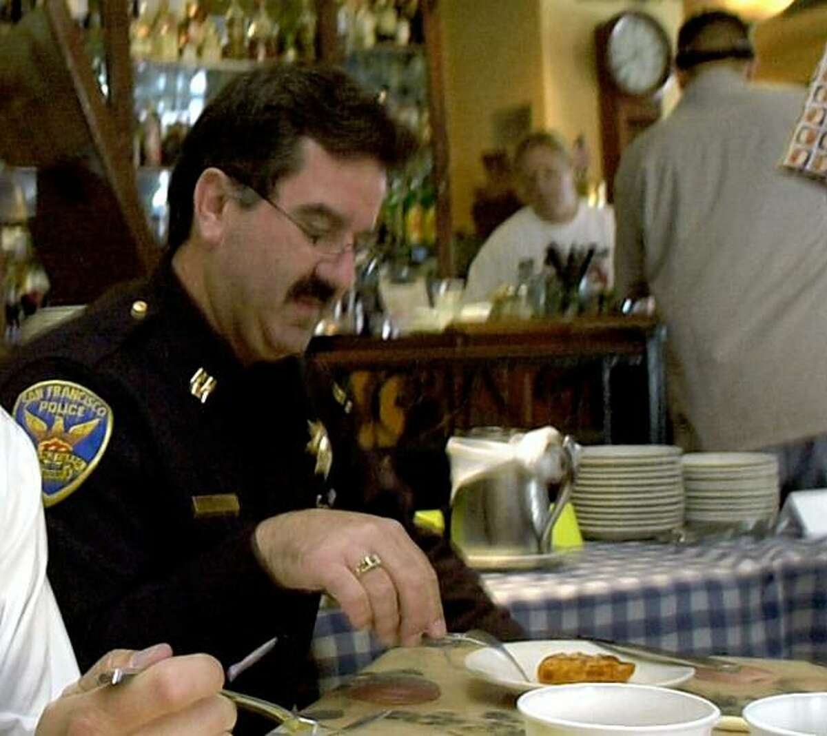 SF Police Captain Steve Tacchini