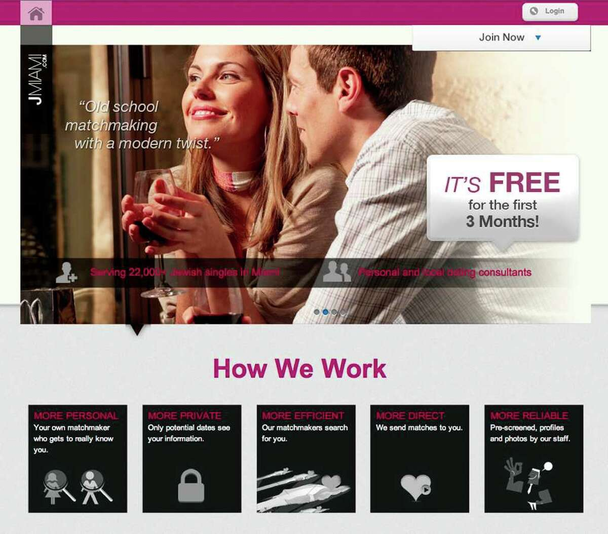 Jewish singles can use websites such as JMiami to find them a match.