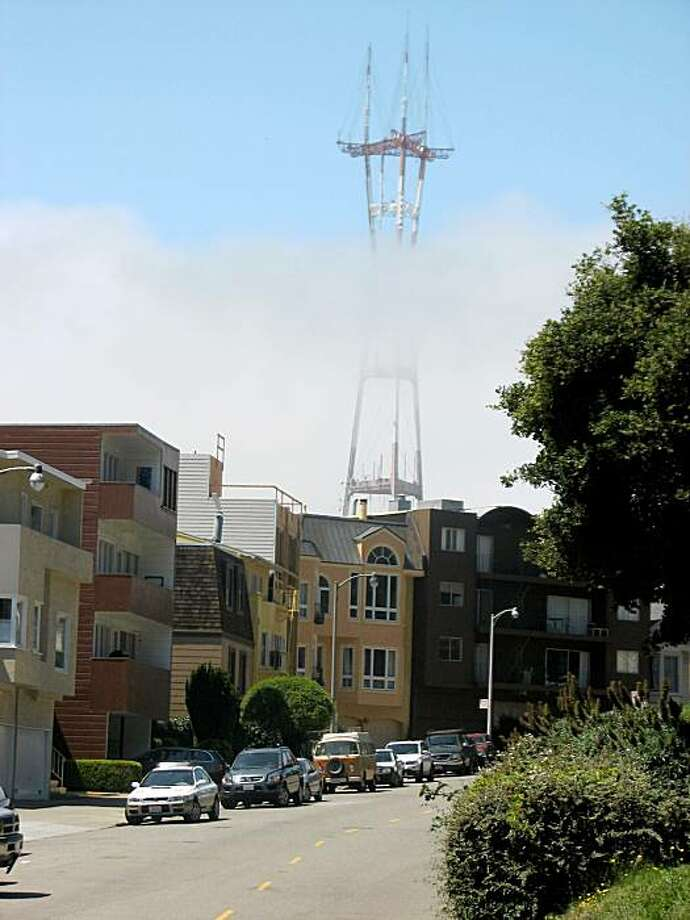 Sutro Tower, love it or hate it, it's here to stay. Photo: John King, The Chronicle
