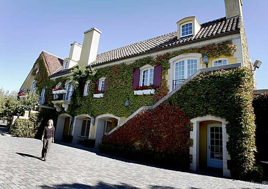 134c5cdc08651d The magnificent Jordan Winery on a fall day. Fritz Winery in Cloverdale