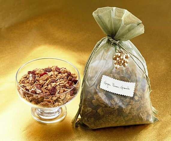 Ginger Pecan Granola in San Francisco, Calif., on November 17, 2009. Photo: Craig Lee, Special To The Chronicle
