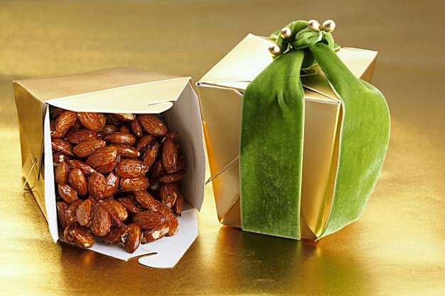 Honey Lacquered Almonds in San Francisco, Calif., on November 17, 2009. Photo: Craig Lee, Special To The Chronicle