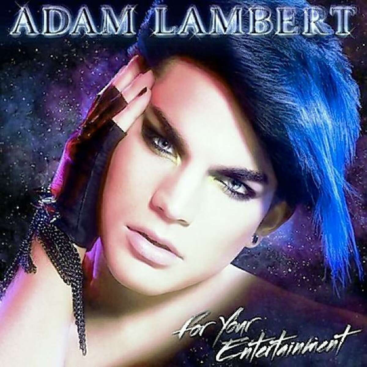 CD cover: Adam Lambert's