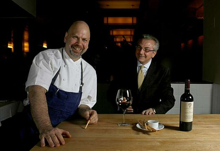 Perbacco's Staffan (cq) Terje, left, and Umberto Gibin are opening Barbacco later this month (Dec. 2009). Photo: Kat Wade, The Chronicle