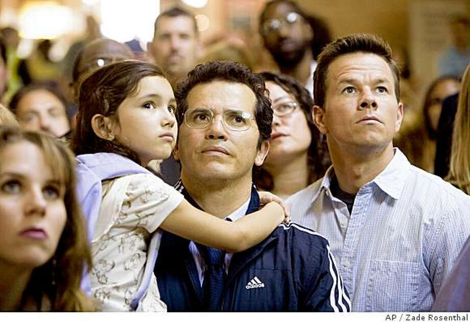 "In this image released by Twentieth Century Fox, Ashlyn Sanchez, John Leguizamo,center, and  Mark Wahlberg are shown in a scene from, ""The Happening."" (AP Photo/Twentieth Century Fox, Zade Rosenthal) Photo: Zade Rosenthal, AP"