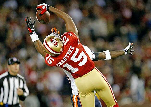 Drops, not catches, occupy Crabtree's thoughts - SFGate