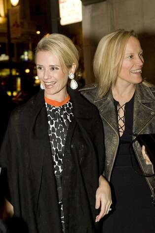 Stylist Marcy Carmack, seen here with clientJennifer Siebel Newsom, is launching a new website called Therealreal.com Photo: Drew Altizer