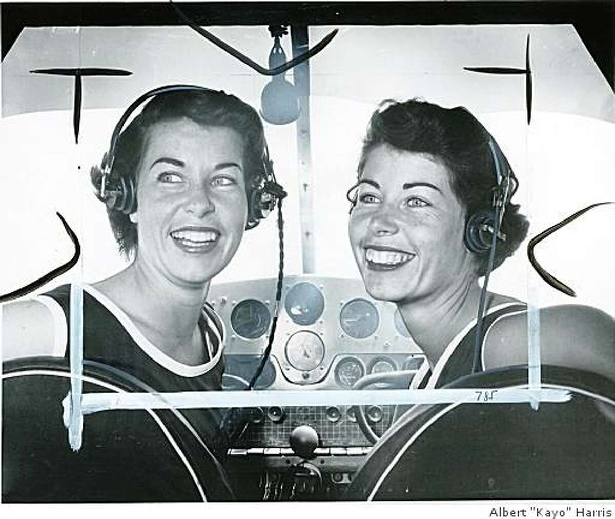 Jan(left) Marion(right)Obit photo of Jan Dietrich, a pilot and member of the Mercury 13 Astronaut Training Program- Shown in this 1961 photo in the cockpit of a plane with her twin sister, Marion (right) who was also a member of the Mercury 13.The Dietrich twins, high flying queens of the sky who are in training at Oakland Airport for the 2400-mile women