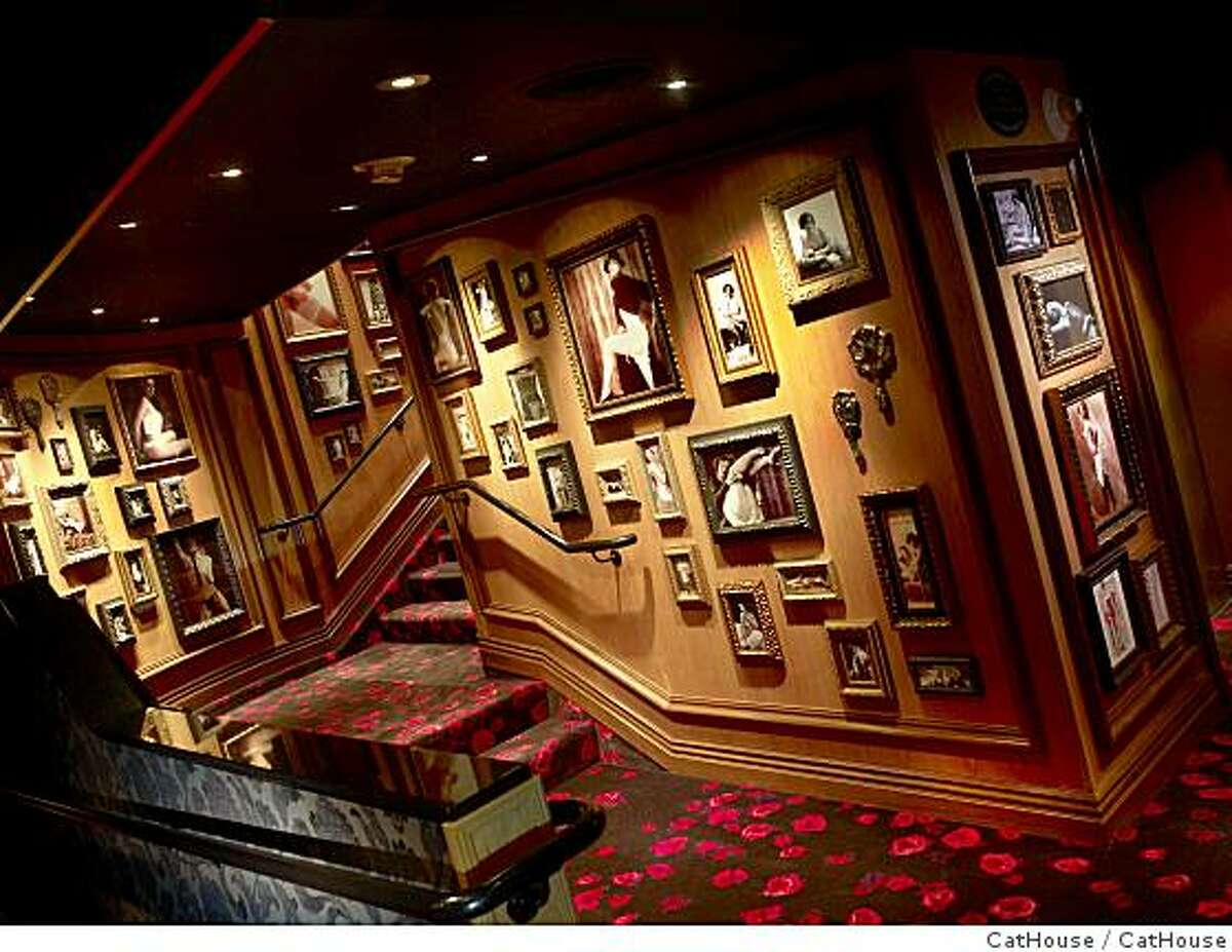 TRAVEL VEGAS -- Handout shots from the CatHouse, a restaurant-lounge-nightclub inside the Luxor hotel in Las Vegas.cathouse_entry.jpg