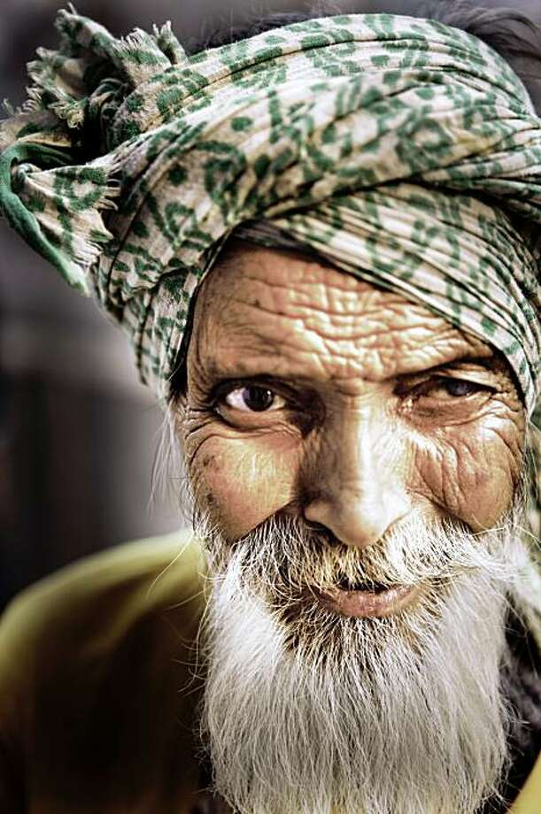 A local in Vrindaban, Uttar Pradesh, India from Oh, My God? A film by Peter Rodger. Photo: ZEE Motion Pictures