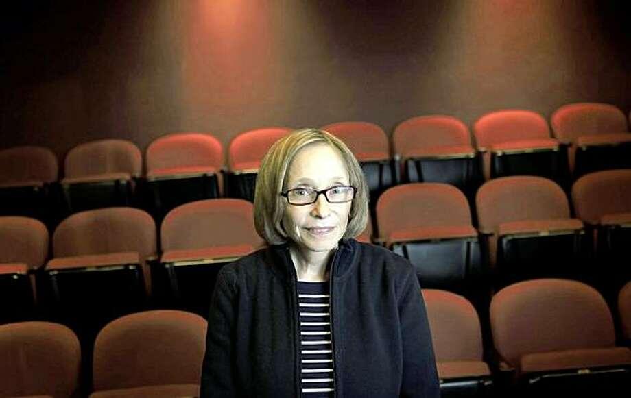 "Barbara Damashek, director of ""Fat Pig"" at The Aurora Theater in Berkeley, Calif., on Wednesday, November 18, 2009. Photo: Carlos Avila Gonzalez, The Chronicle"