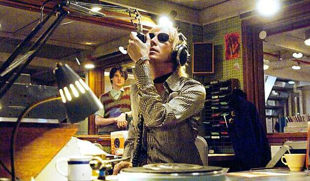 "Rhys Ifans, front, stars in ""Pirate Radio."" (Alex Baily/Focus Features/MCT) Photo: Alex Bailey, MCT"