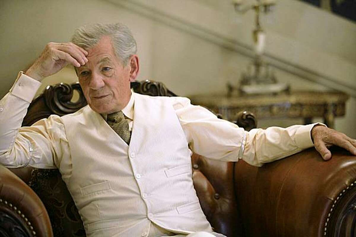 This photo released by AMC shows Ian McKellen as Two in a scene from