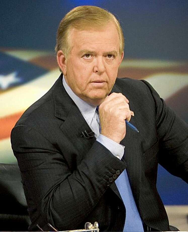 "FILE - In this 2005 file photo provided by CNN, news anchor Lou Dobbs sits on the set of his show, ""Lou Dobs Tonight,"" in New York  (AP Photo/CNN, Mark Hill, File) Photo: CNN, Mark Hill, File, AP"