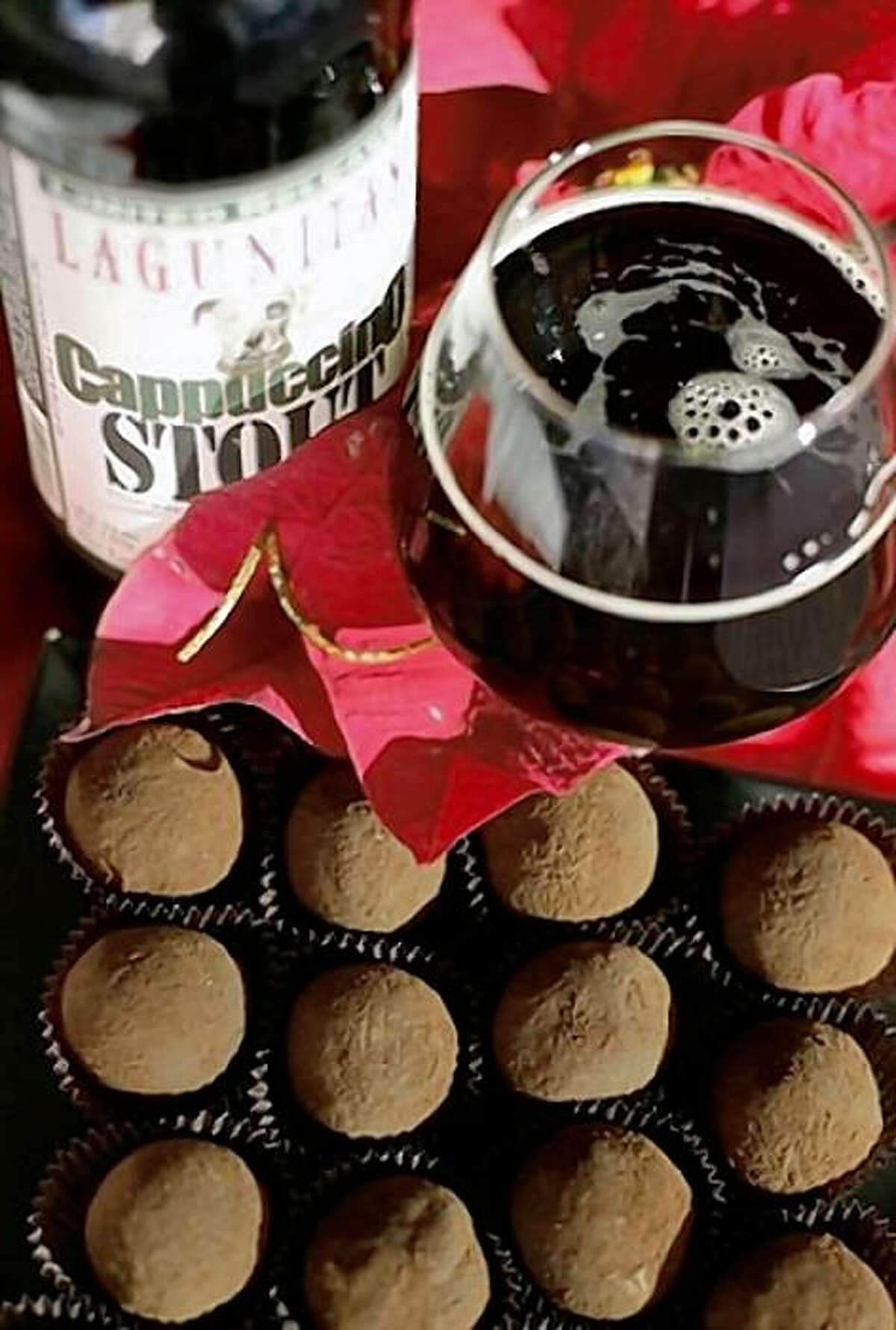 Beer and chocolate will be available at the BevMo! Holiday Beer Fest at Fort Mason.
