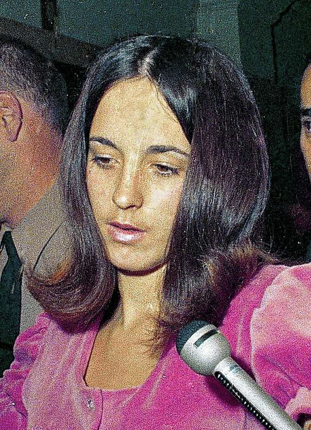 *** FILE **** Susan Atkins, a key witness in the Sharon Tate murder trial is seen, in this 1969 file photo. Atkins, the former Charles Manson follower who confessed to killing pregnant actress Sharon Tate during a murderous rampage in 1969, has a terminal illness and has asked for compassionate release from prison in her final days, authorities said Thursday June 12, 2008. (AP Photo, File)