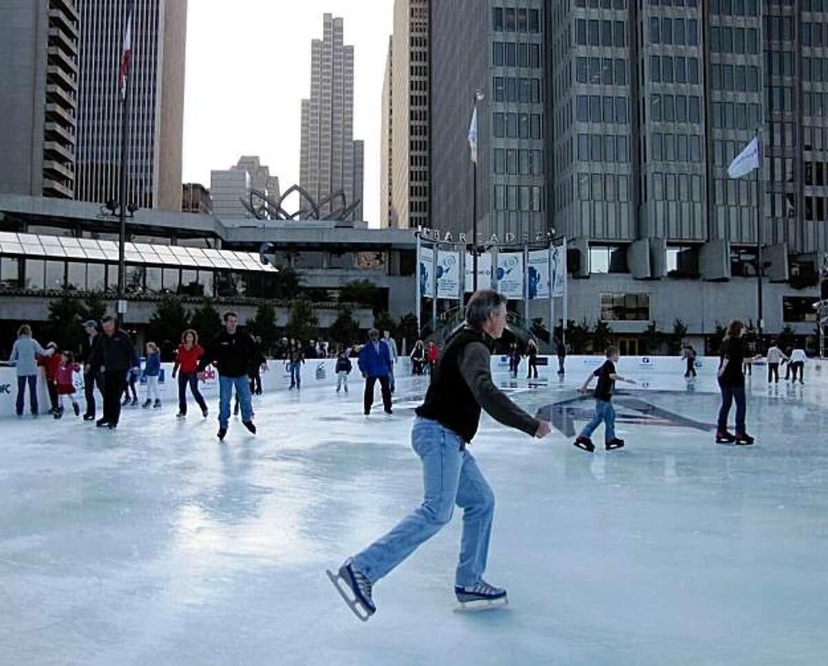 Location No.3: Holiday Ice Rink at Justin Herman Plaza