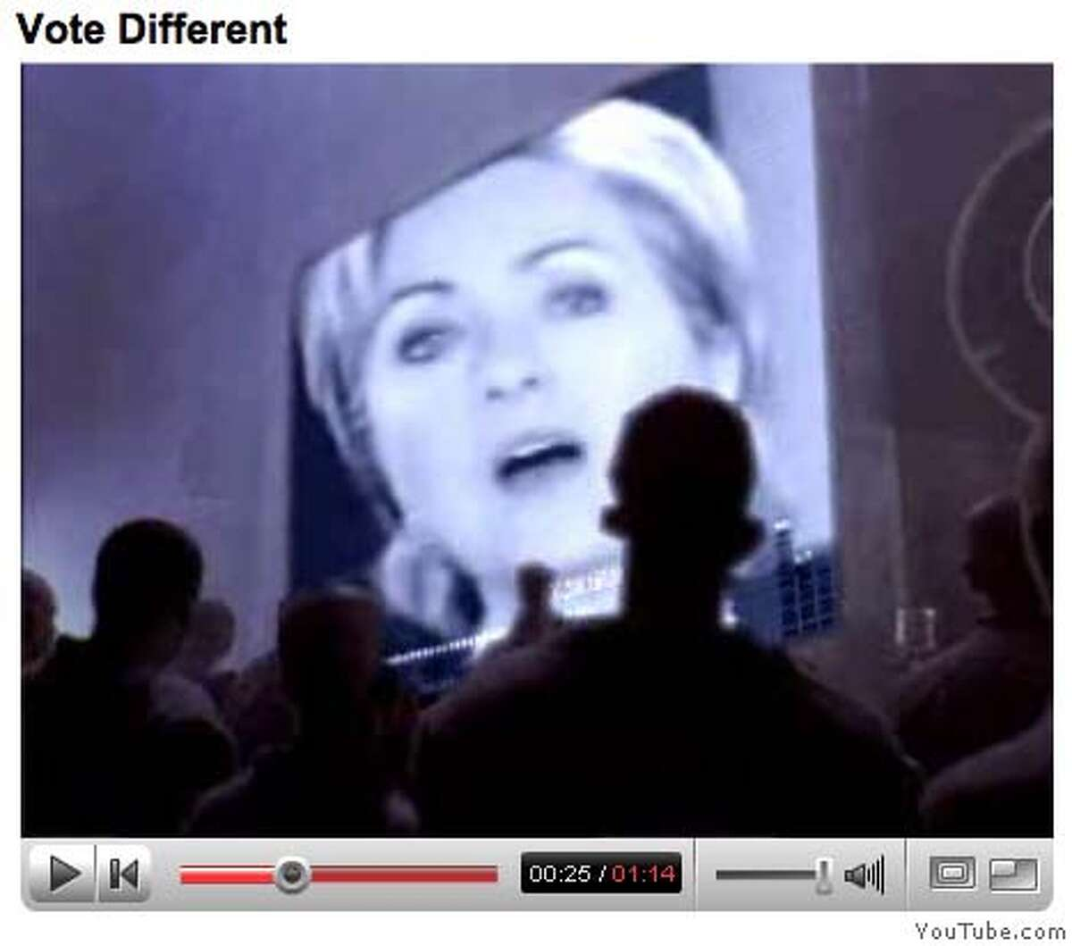 Frame grab from YouTube.com showing the