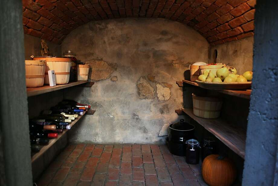 One of the caves is in the backyard of Terziev's neighbor and friend Ellen Freeman who uses her cave to store wine and make cheese in Corte Madera, Calif. on November 16, 2011. Photo: Audrey Whitmeyer-Weathers