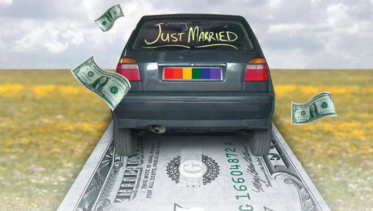 State sees same-sex wedding windfall
