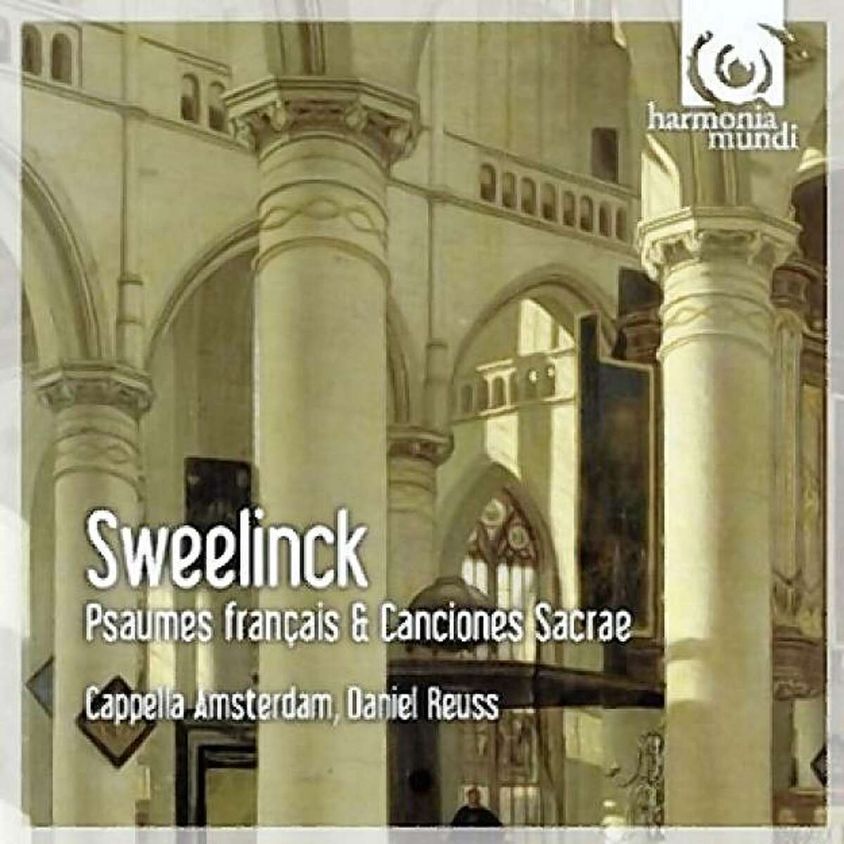 CD cover: Sweelinck, Psalms and Motets