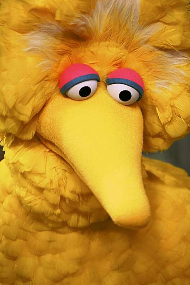 "FILE - In this April 10, 2008 file photo, Big Bird is seen during the taping of an episode of ""Sesame Street"" in New York.  (AP Photo/Mark Lennihan, file) Photo: Mark Lennihan, File, AP"