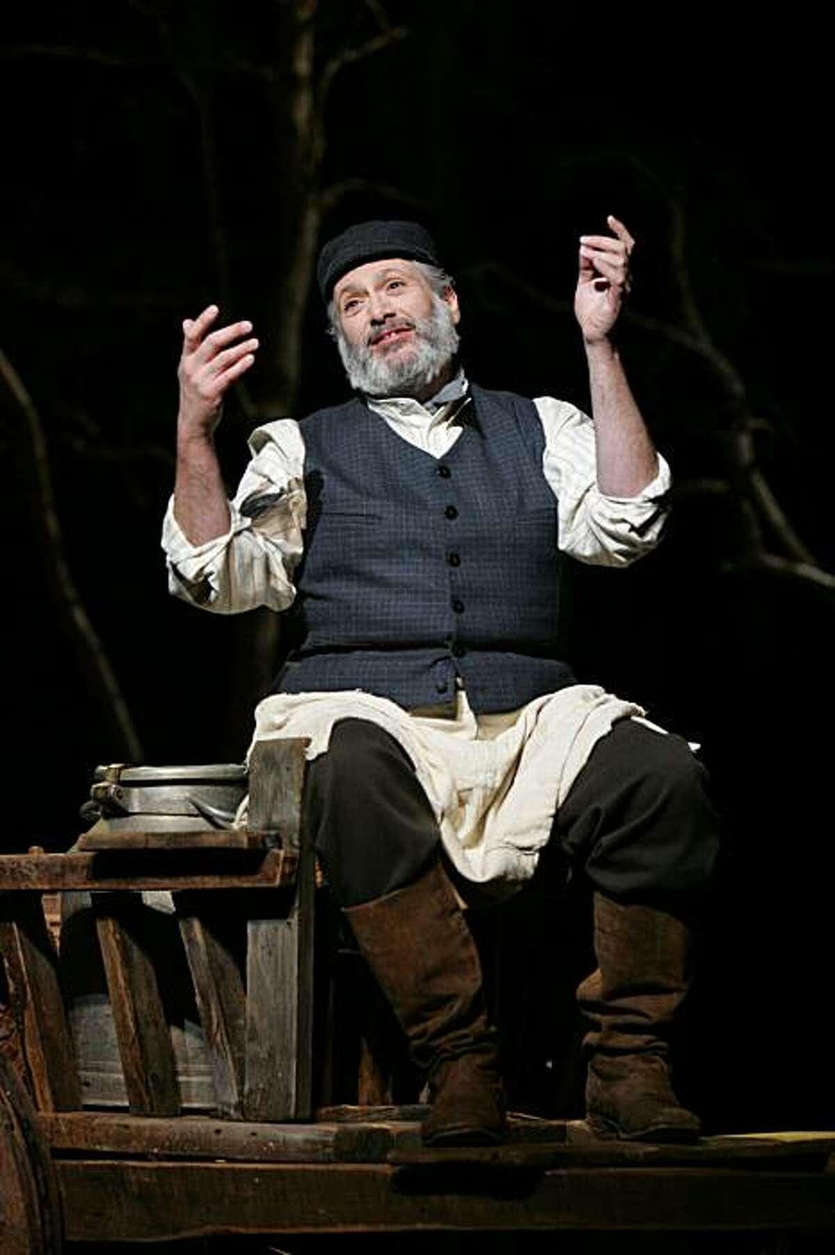 Harvey Fierstein as Tevye in