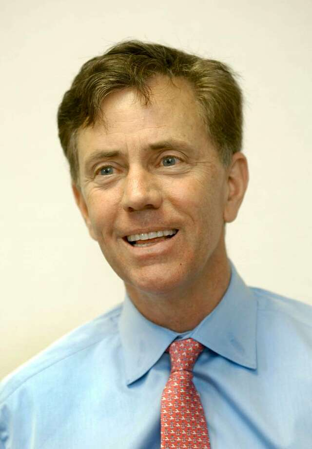 Ned Lamont talks to the News-Times 10/26/06 Photo: Carol Kaliff / The News-Times